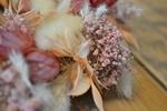 Trockenblumen Kranz Detailaufnahme © Sabrina Sommer