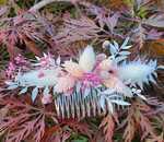 Trockenblumen Haarschmuck © Sabrina Sommer